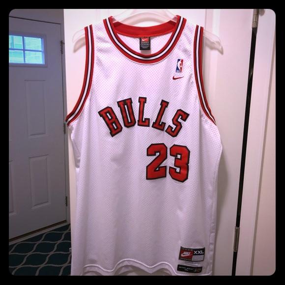 super cute 7bf2c 9be6b Michael Jordan Nike Authentic Chicago Bulls Jersey